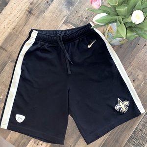 USED Nike New Orleans Saints Shorts